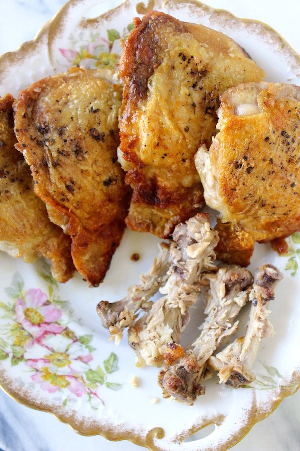 chicken thighs deboned