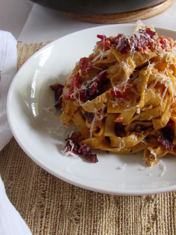 Pasta Carbonara bowl