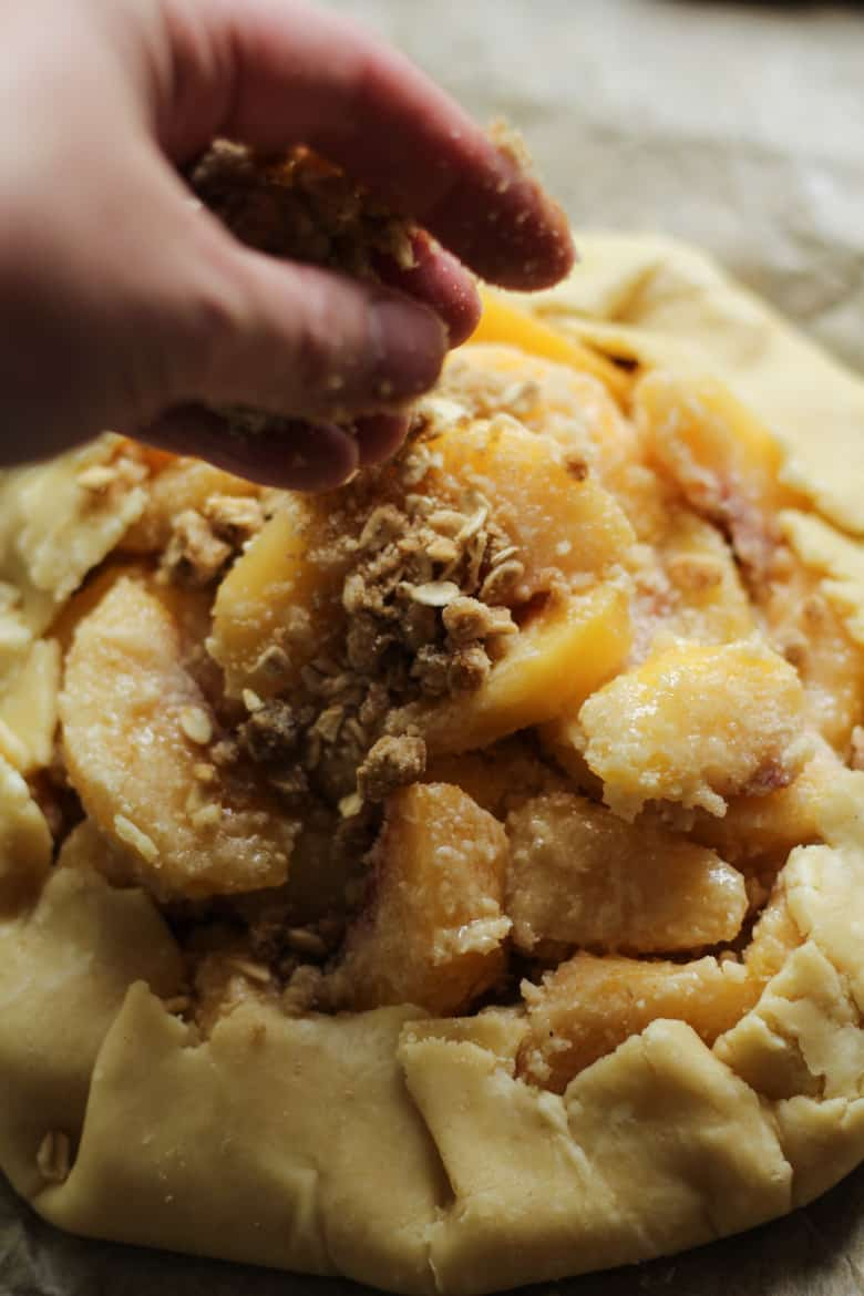 Peach Pie Crumble