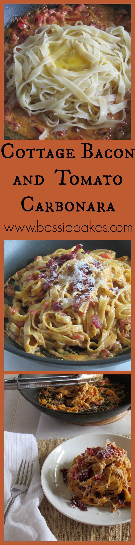 Cottage Bacon and Tomato Carbonara