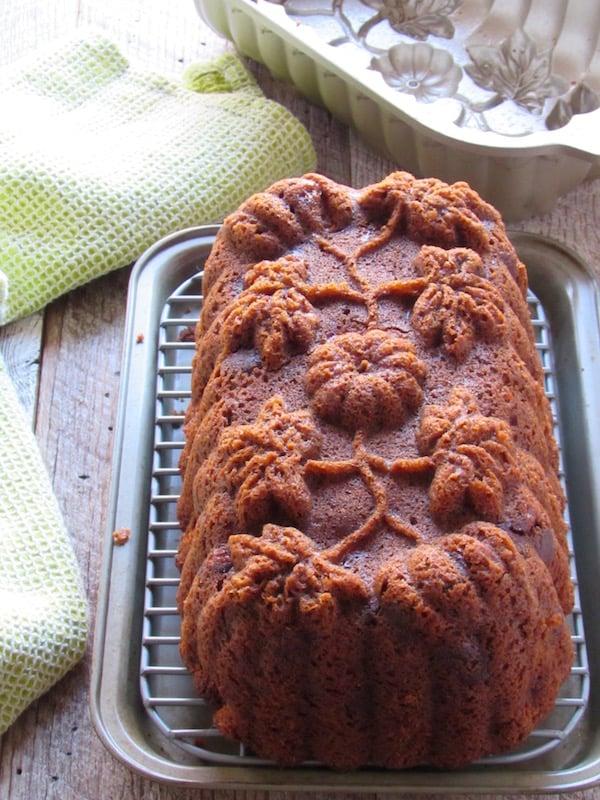 gluten free banana bread baked