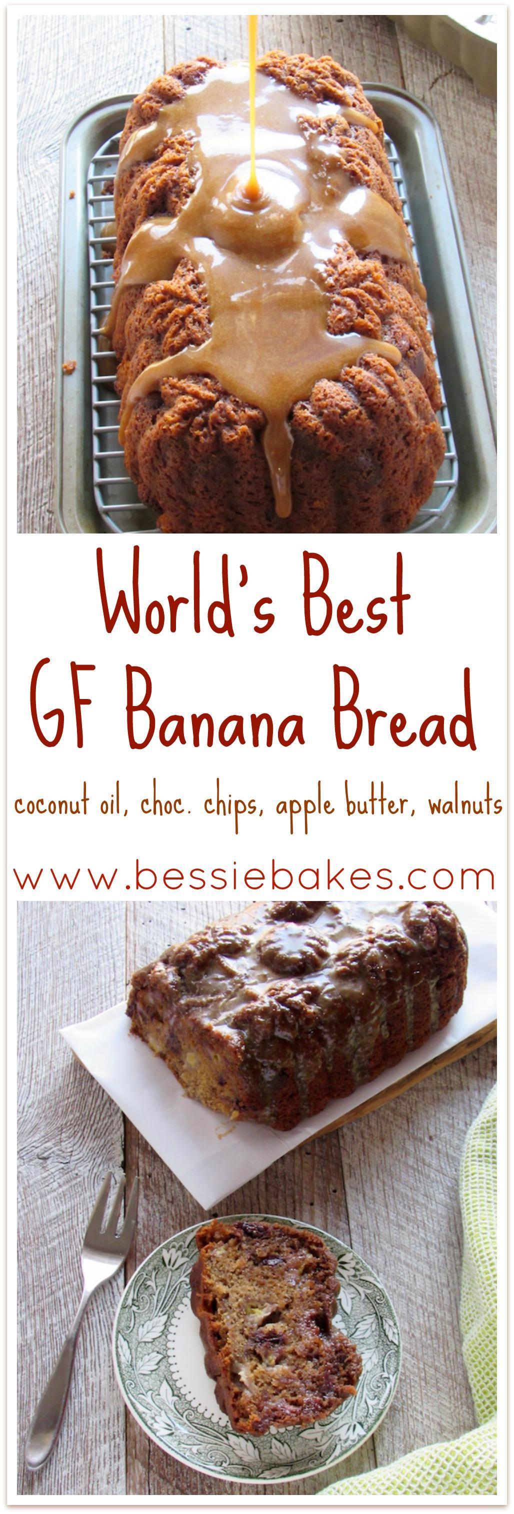 Gluten Free banana bread pinterest