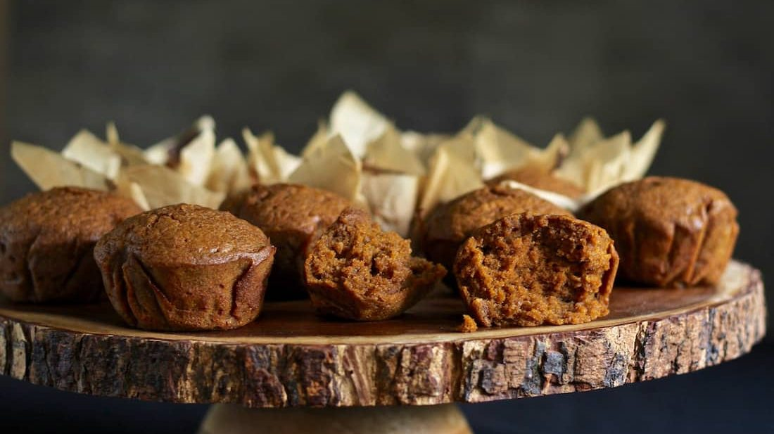 gluten free spiced pumpkin muffins recipe with coconut oil