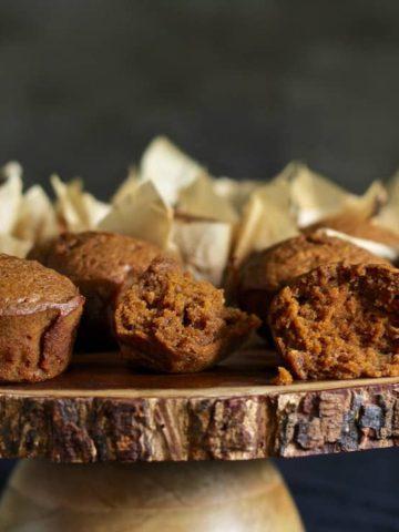 gluten free spiced pumpkin muffins recipe with coconut oil