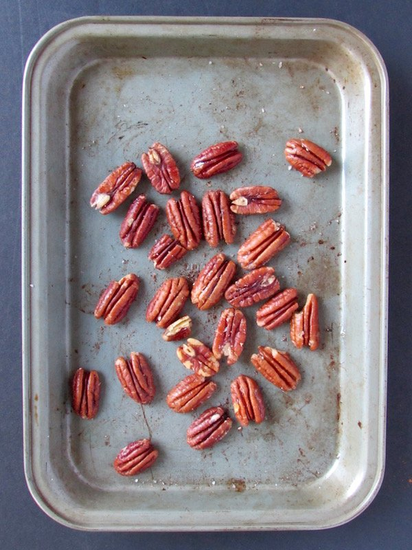 Coconut Oil Roasted Pecans