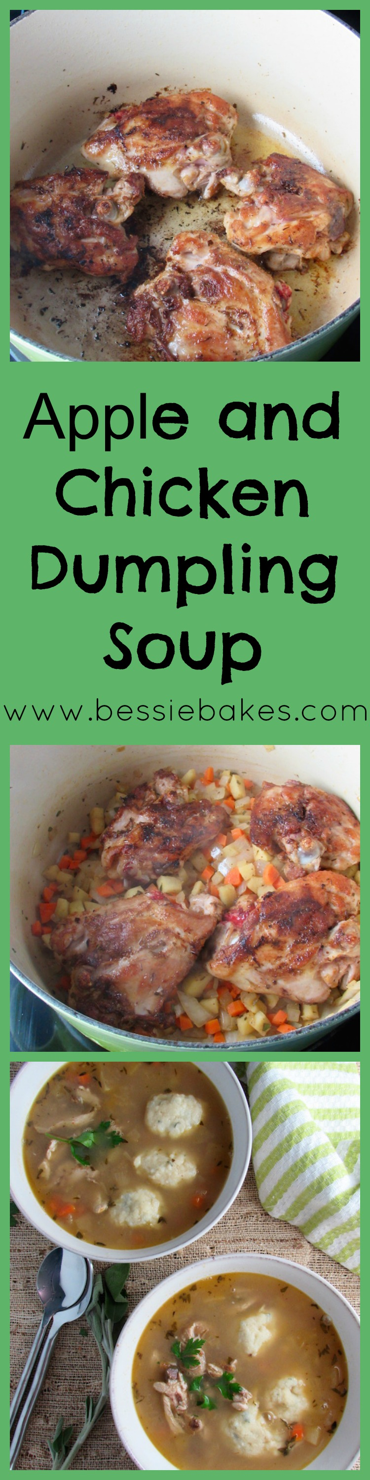 Apple and Chicken Dumpling Soup Pinterest