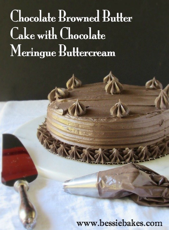 Browned Butter Chocolate Cake