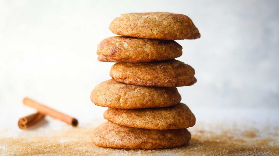 Soft and buttery Chai Snickerdoodles Cookie recipe