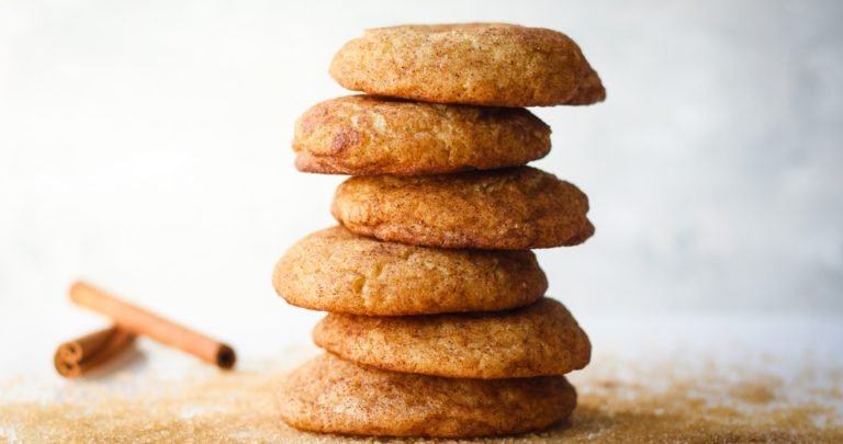 SOFT CHAI SNICKERDOODLE COOKIE RECIPE