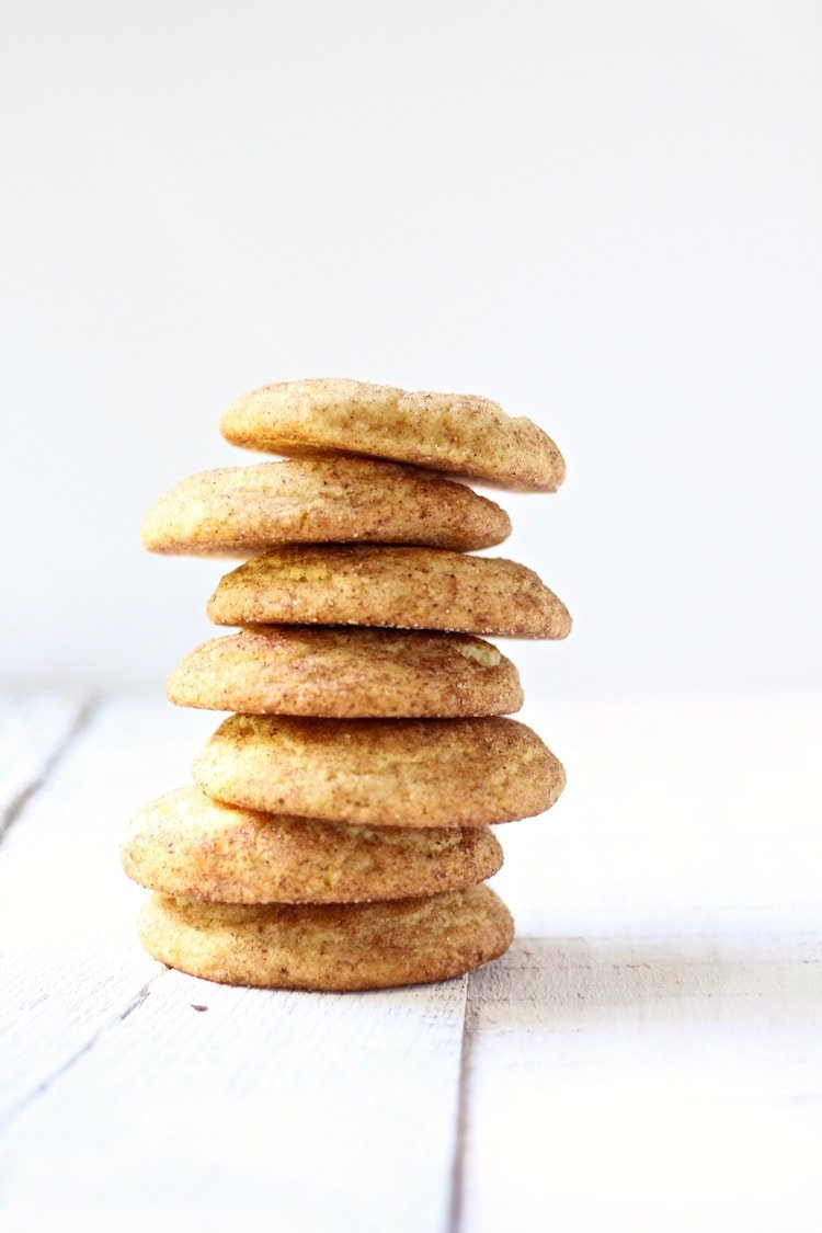 Chai Snickerdoodle Cookies, soft and buttery
