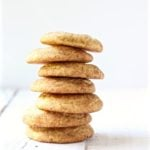 chai snickerdoodles stacked