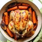 Try this simple a quick way to roast your chicken!