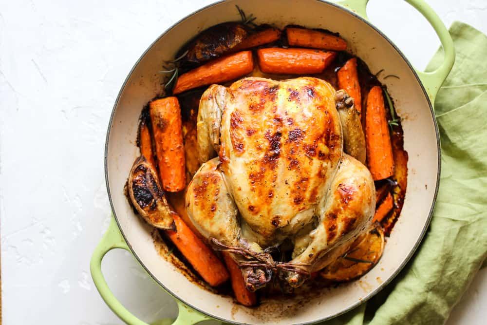 This simple roasting hack makes the most tender and flavorful chicken