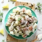 Luscious Creme Fraiche Potato Salad Recipe