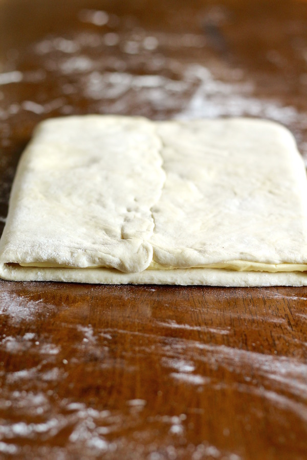 croissant dough butter book fold
