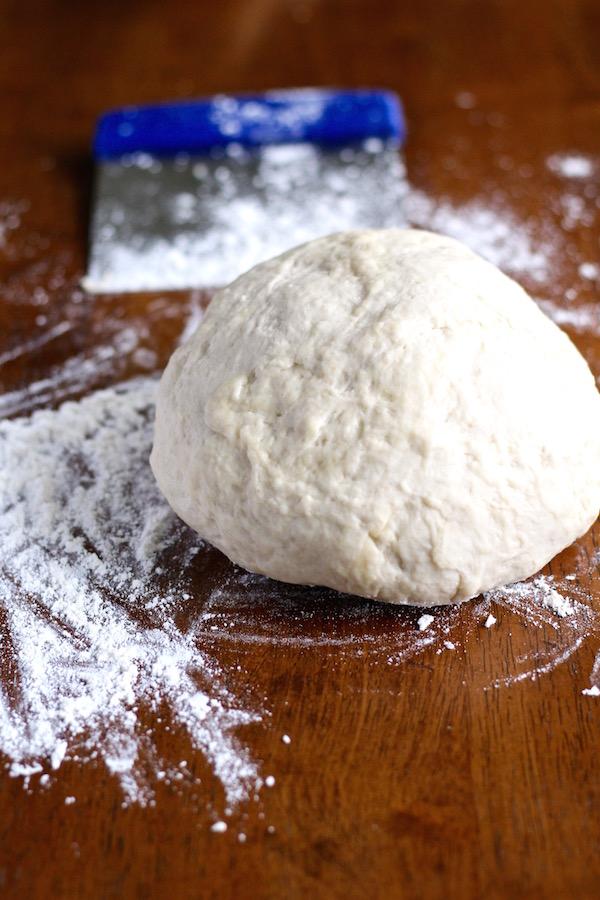 croissant dough kneaded