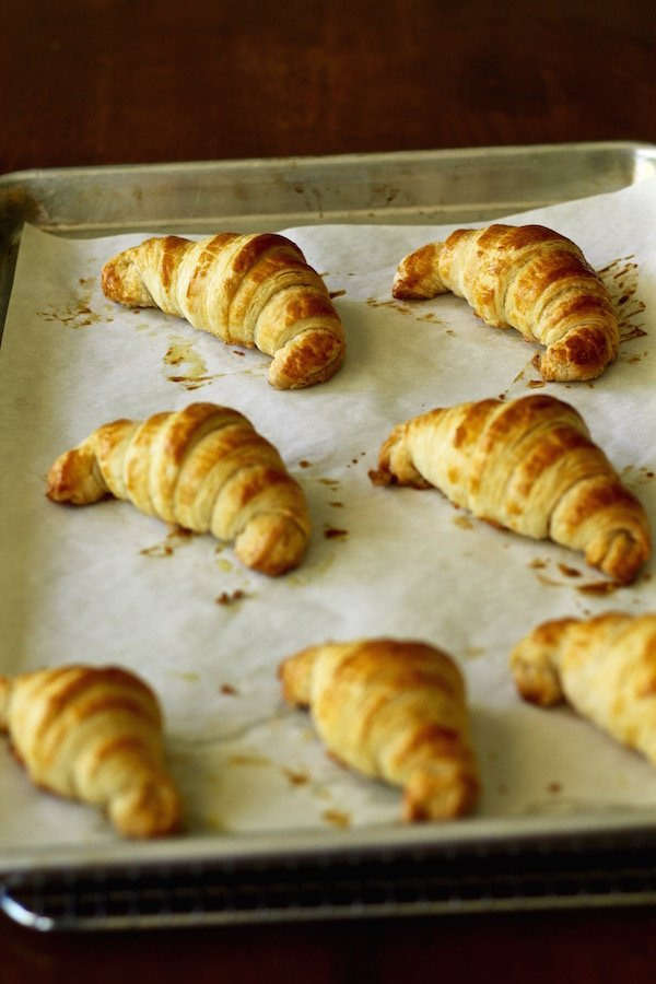 croissants baked 1