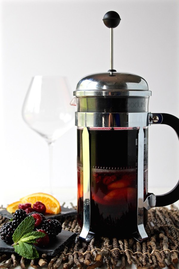 sangria french press