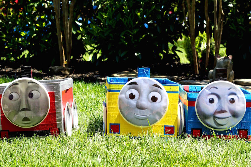 thomas the train boxes lined up featured image