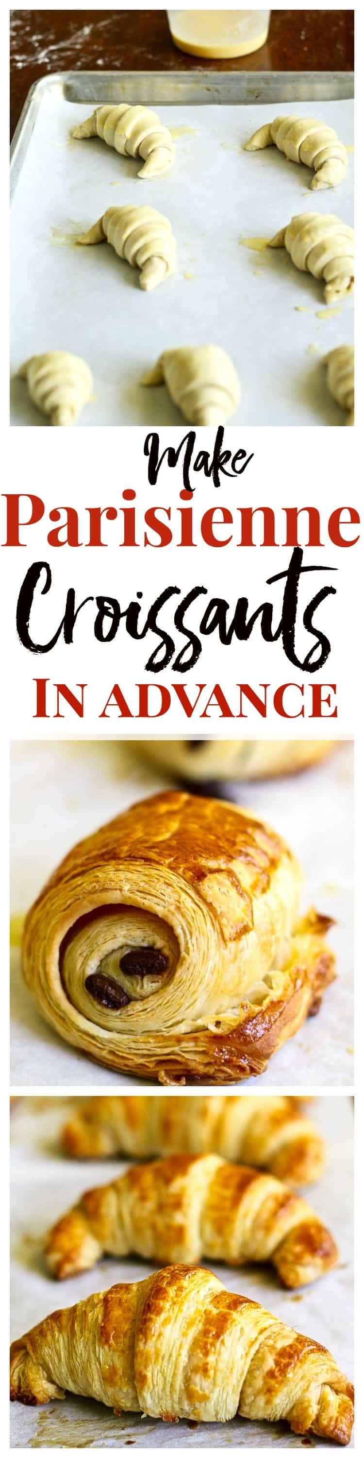 Make french croissants like a pro with over 40 step-by-step photos!