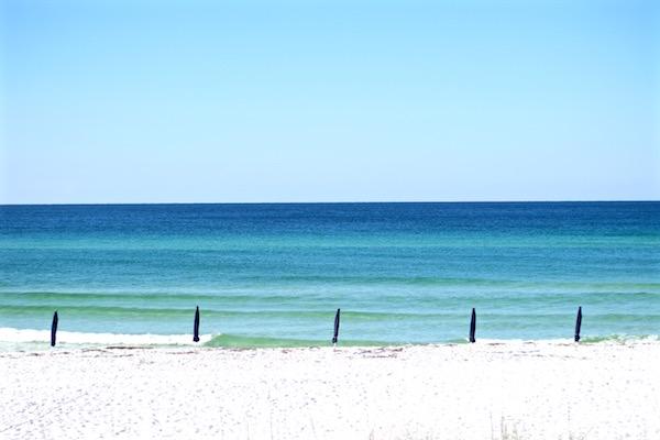destin florida beach morning