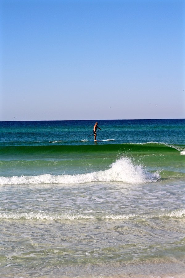 destin florida paddle surfing