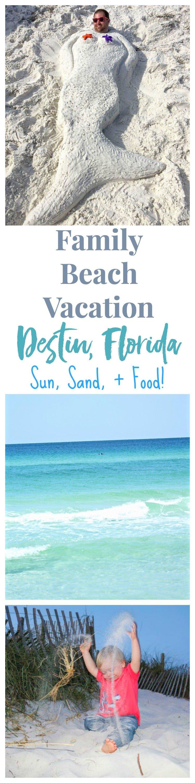 family beach vacation destin, florida pinterest