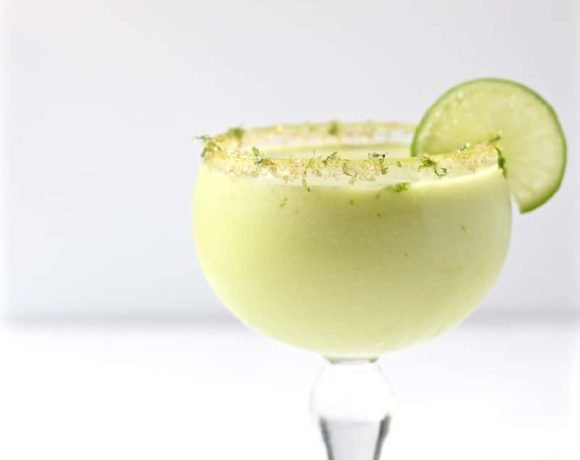 jalapeno infused avocado cocktail featured image