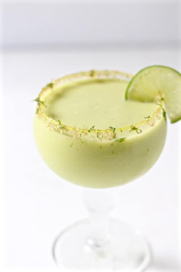 jalapeno infused avocado cucumber cocktail 1