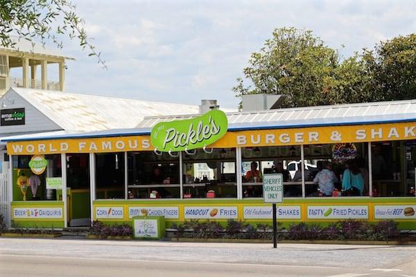 pickles restaurant seaside florida