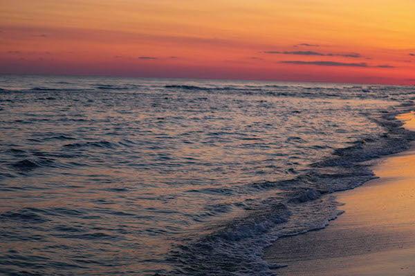 seaside beach kendall's photo