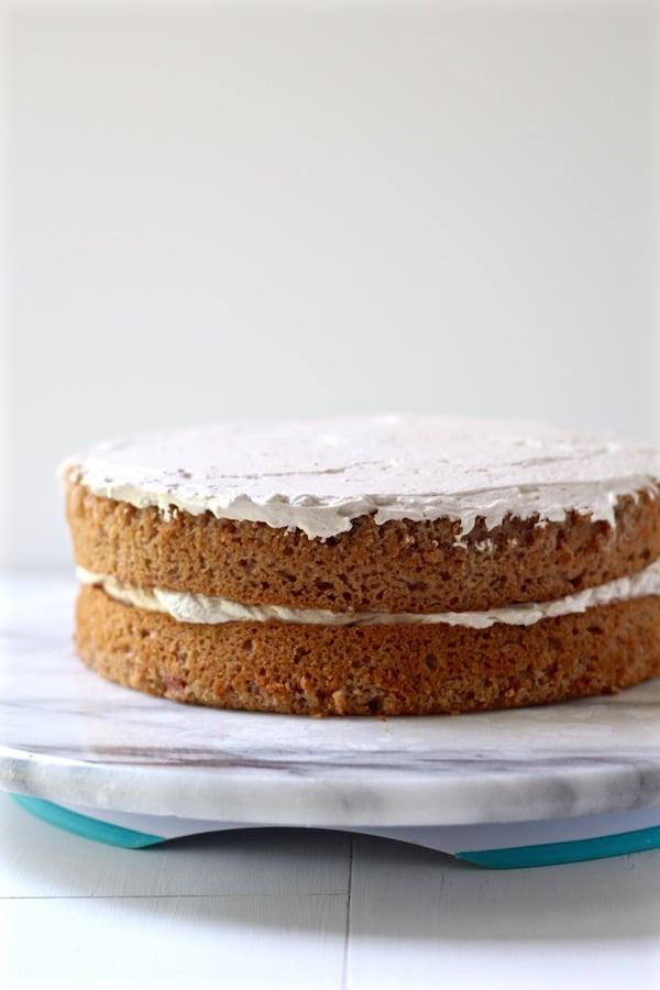 strawberry cake layered