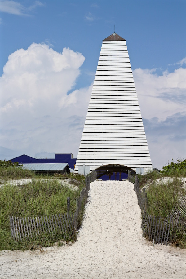 tower in seaside