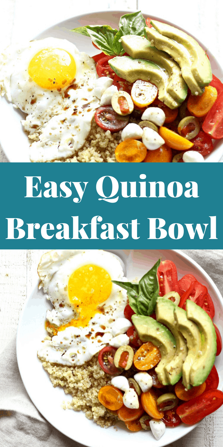 Easy Healthy Quinoa Breakfast Bowl Recipe
