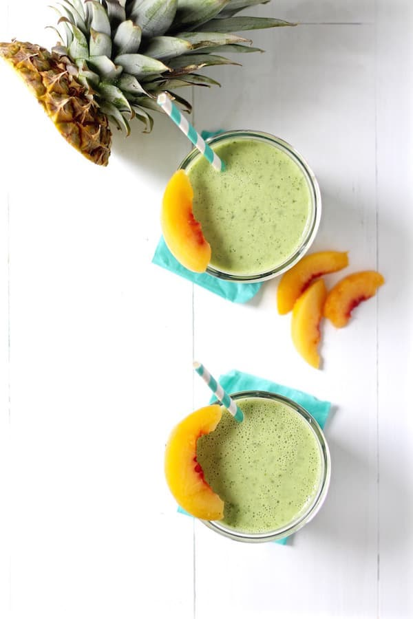 smoothies and smoothie popsicles for toddlers and kids kale pineapple peach