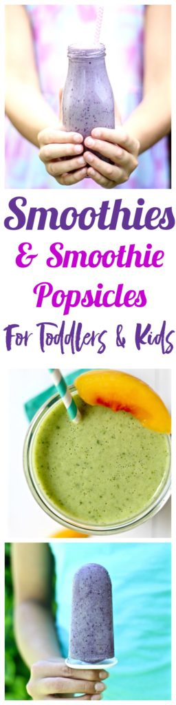 I've got 14 amazingly delicious and healthy smoothies recipes that can also be transformed into popsicles!