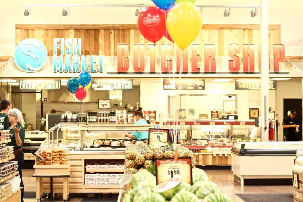 Sprouts Market Murfreesboro, TN fish and butcher shop