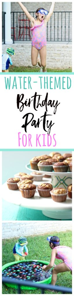 2 year old water-themed birthday party for kids!