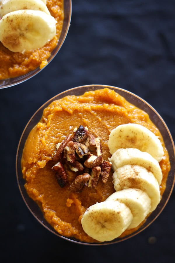 Pumpkin chai chia pudding is so easy and healthy!