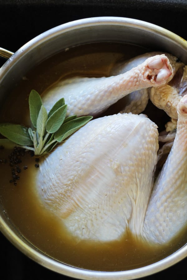 I'll show you how to brine a turkey and WHY it's so important!