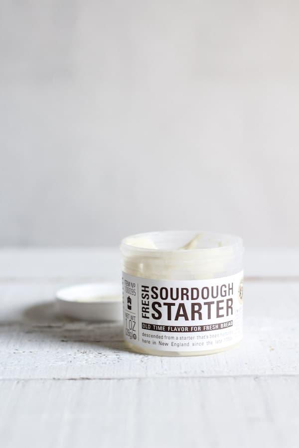 sourdough starter purchased