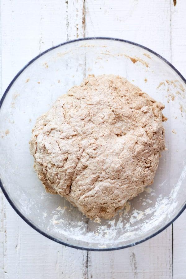 Sourdough biscuit dough