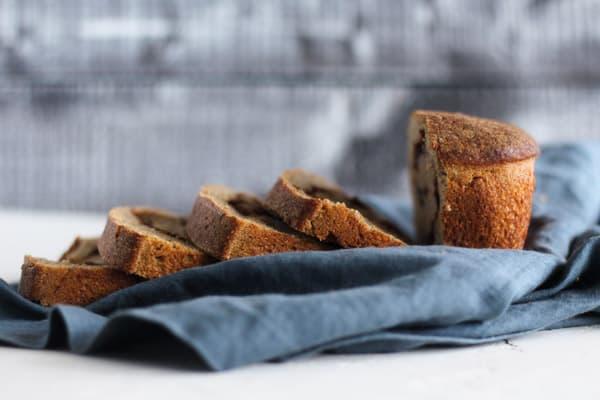 sourdough cinnamon raisin bread sliced