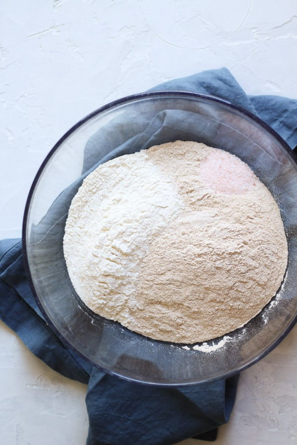 ingredients for sourdough cinnamon raisin bread