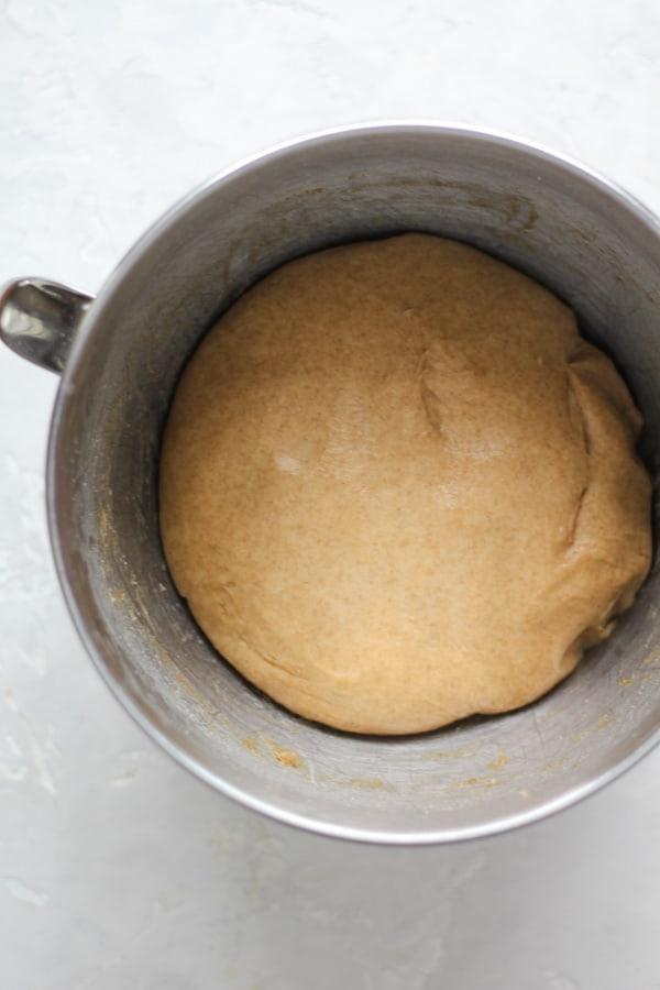 Sourdough Spelt Brioche dough