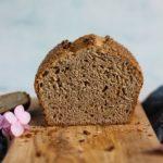 Buttery Sourdough Spelt Brioche Bread sliced