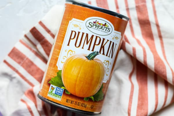 Sprouts Market pure canned pumpkin