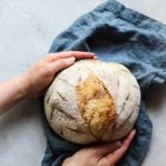 Easy Sourdough Bread Recipe with step-by-step photos