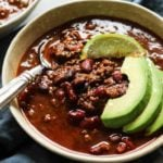Instant pot chili recipe with bone broth