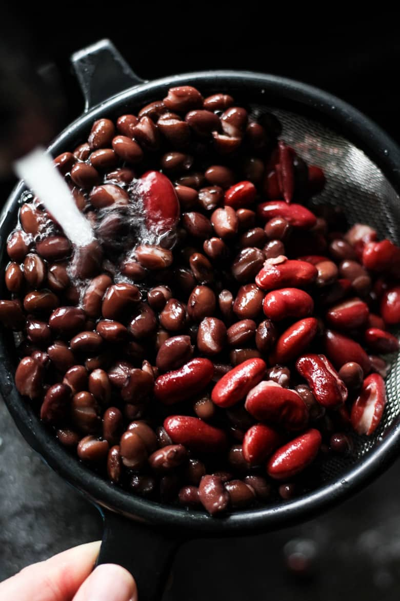 Kidney beans and black beans for instant pot chili recipe